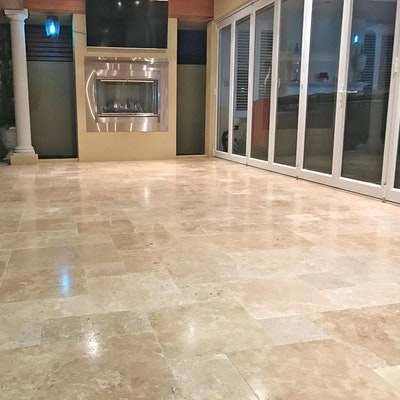 Roma French Travertine Pavers
