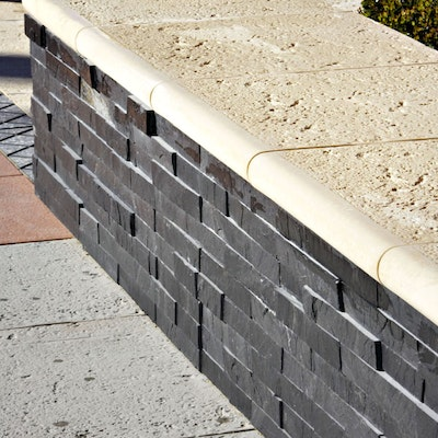 Black Natural Stone Cladding ***special order only***