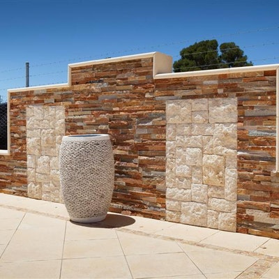 Desert & Random Rock Face Natural Stone Cladding