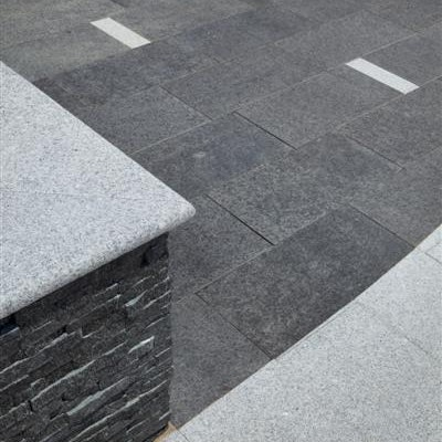 Black Granite, Empire Blue Granite Pavers