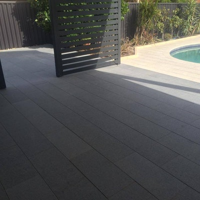 Silver Granite Pavers
