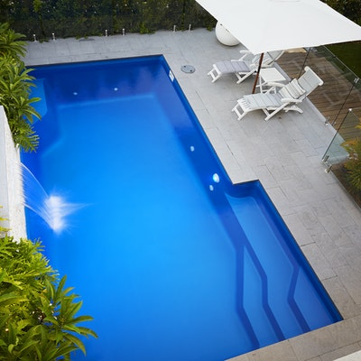 Grey Granite Pool Pavers