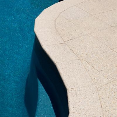 Ice Quartz Poolside Bullnose & Paving