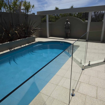 Ice Quartz Pavers & Capping