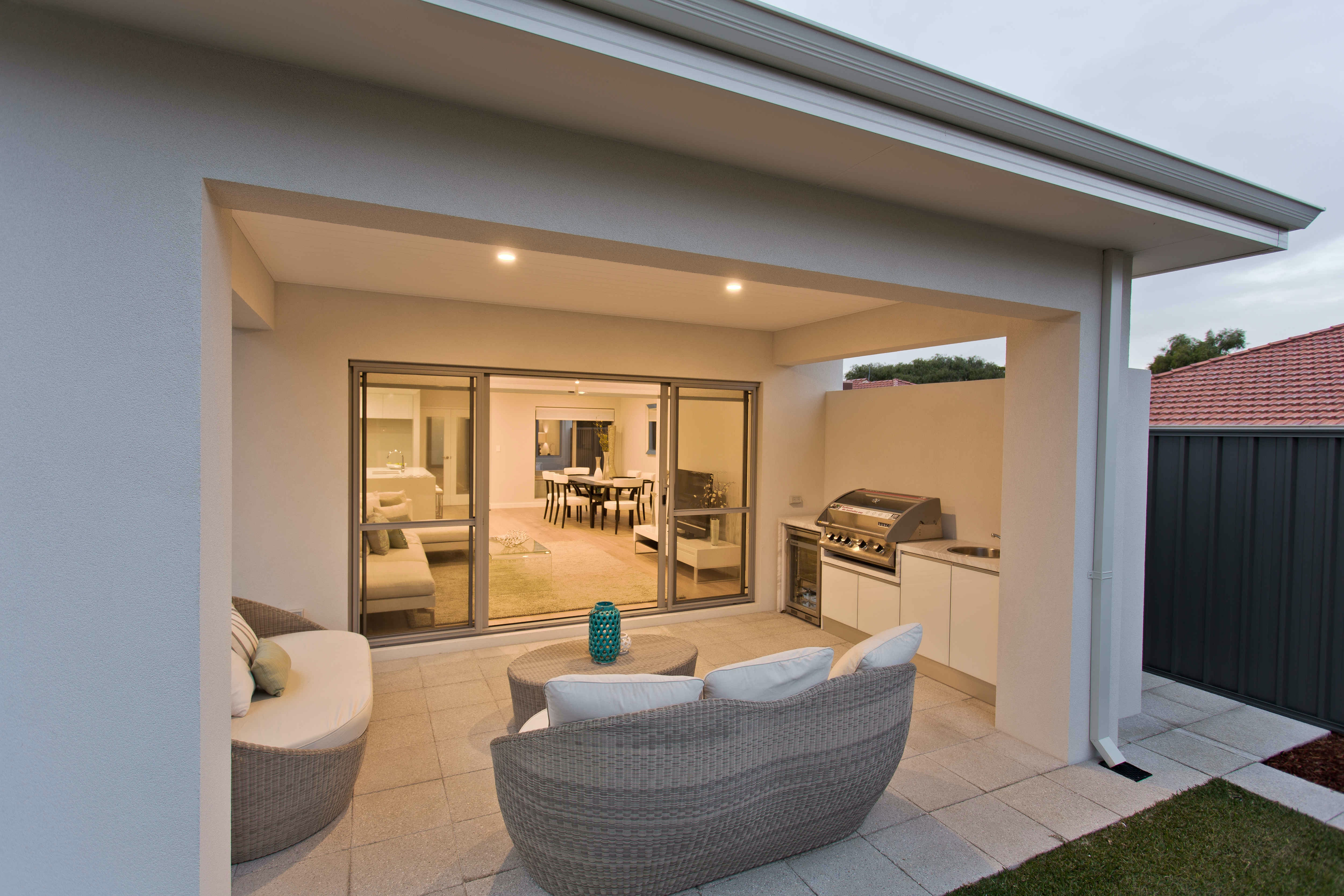 Greystone Quartz Pavers - Alfresco Perth