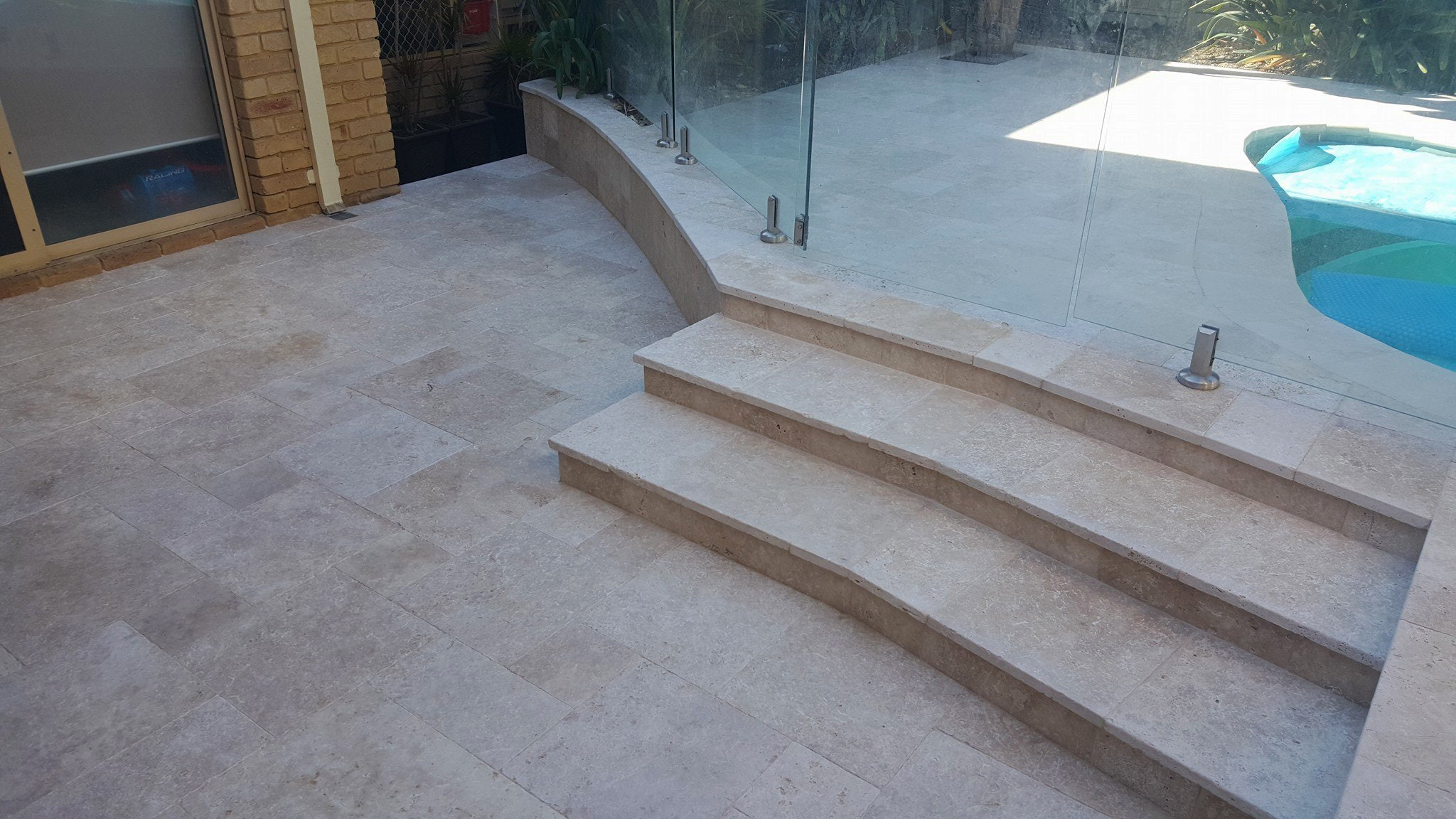 Roma Travertine Paving and Capping Perth