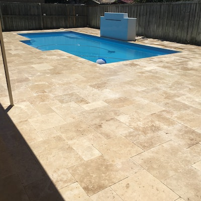 Roam French Travertine Pavers
