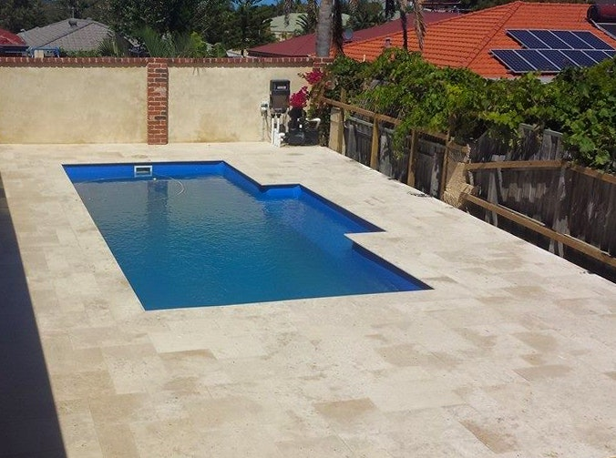 Roma Travertine Rectangle Pavers