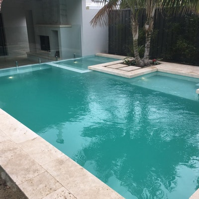 Roma Travertine Pool Pavers