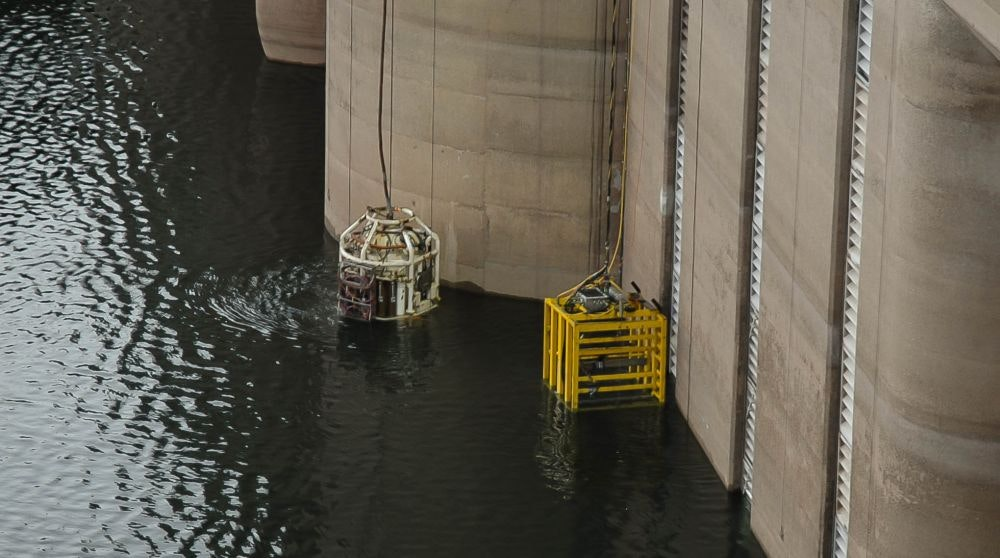 Remoteley Operated Tool for underwater cutting at Warragamba Dam