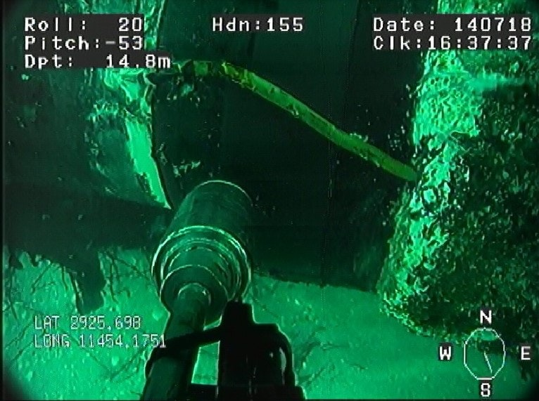 Subsea Coating Removal