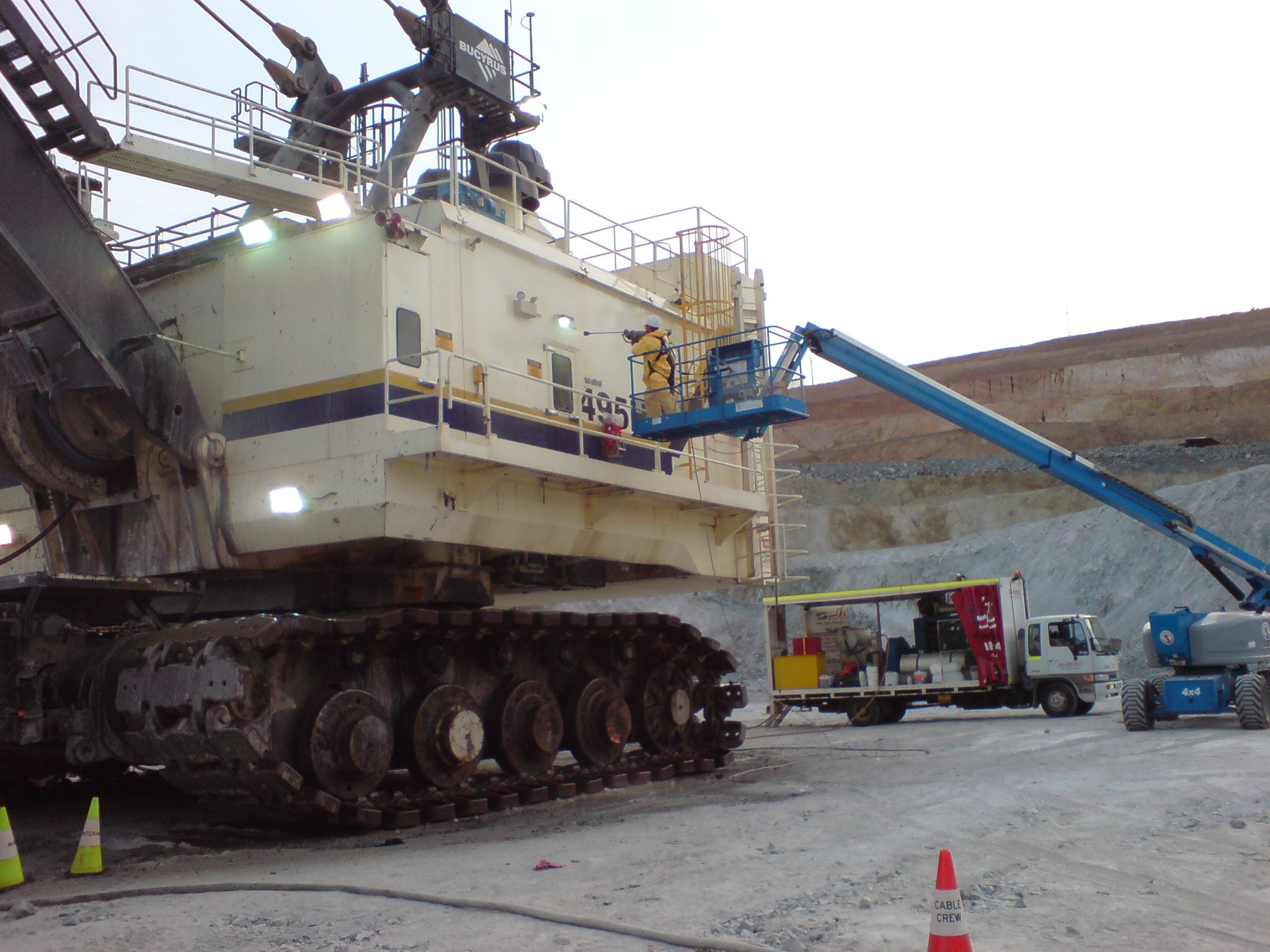 Mining & Heavy Equipment Cleaning