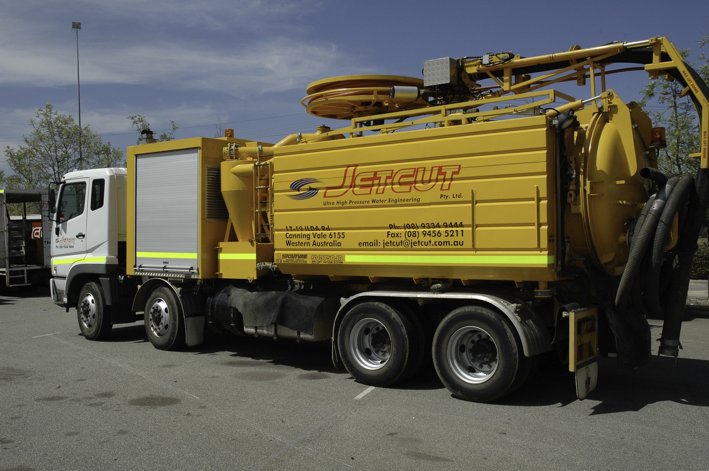 Truck Mounted Hydro Excavation Equipment
