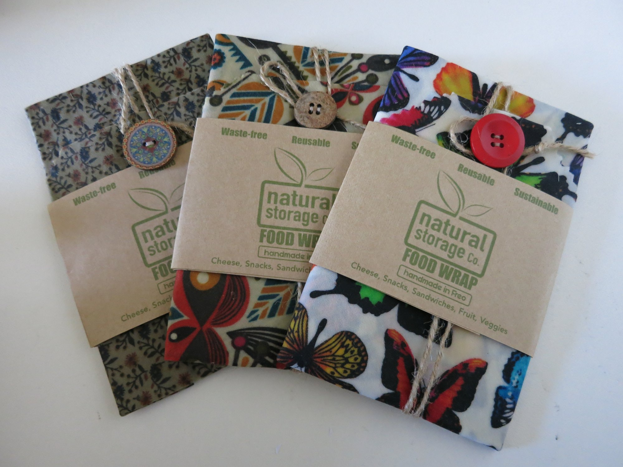 Natural Storage Co. beeswax wraps