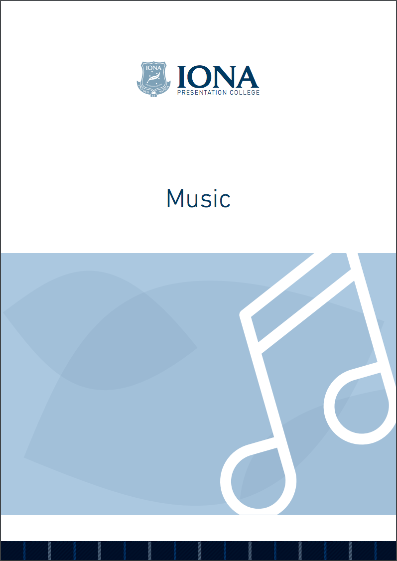Read the Music Learning Area Booklet 2017