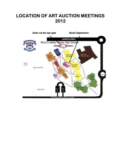 Art Auction Meeting Map