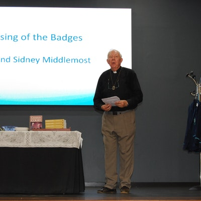 Blessing of the badges