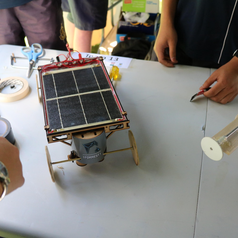Infinite Energy Solar Car Challenge at UWA.