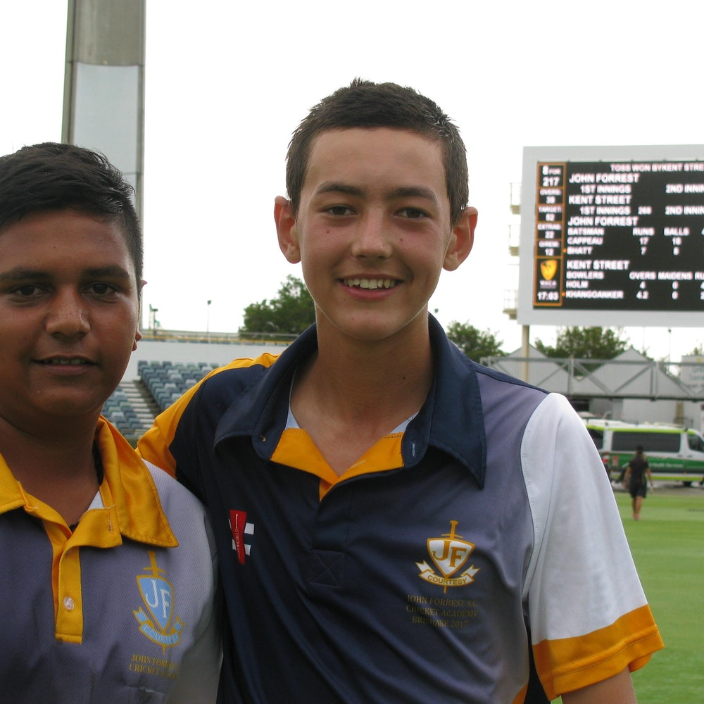 Harshit Bhatt and Jayden Cappeau