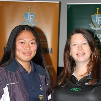 Forrester's Award of Excellence - Netball Program