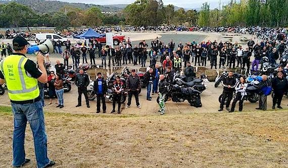 Black Dog Ride's 1 Dayer, Canberra 2015