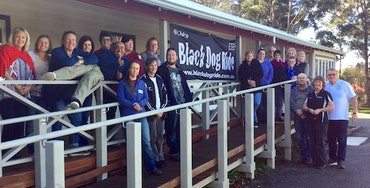 Black Dog Ride's Denmark Mental Health First Aid Graduates July 2017