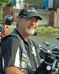 Black Dog Rider and Mental Health First Aid Instructor Michael Young