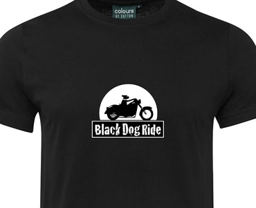 Presenting the new Black Dog Ride T-Shirt!