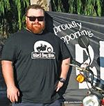 William, Co-Founder of Post Me to Splendour, Proudly Supporting Black Dog Ride