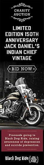 Indian Charity Auction benefiting Black Dog Ride