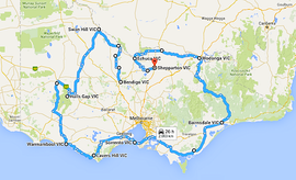 Black Dog Ride - VIC 2016 Itinerary v1