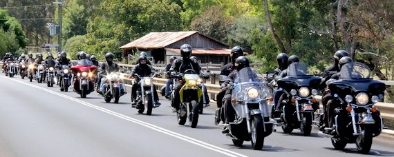 Black Dog Ride's 1 Dayer, Nannup, 2015