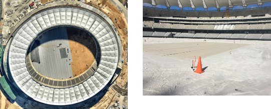 Optus Stadium Turf project