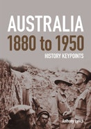 Front Cover - Australia 1880 to 1950