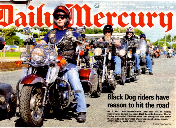 Black Dog Ride 1 Dayer Media 2014 Mackay