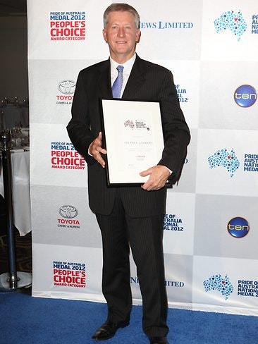 Steve Andrews, Pride of Australia People's Choice Award