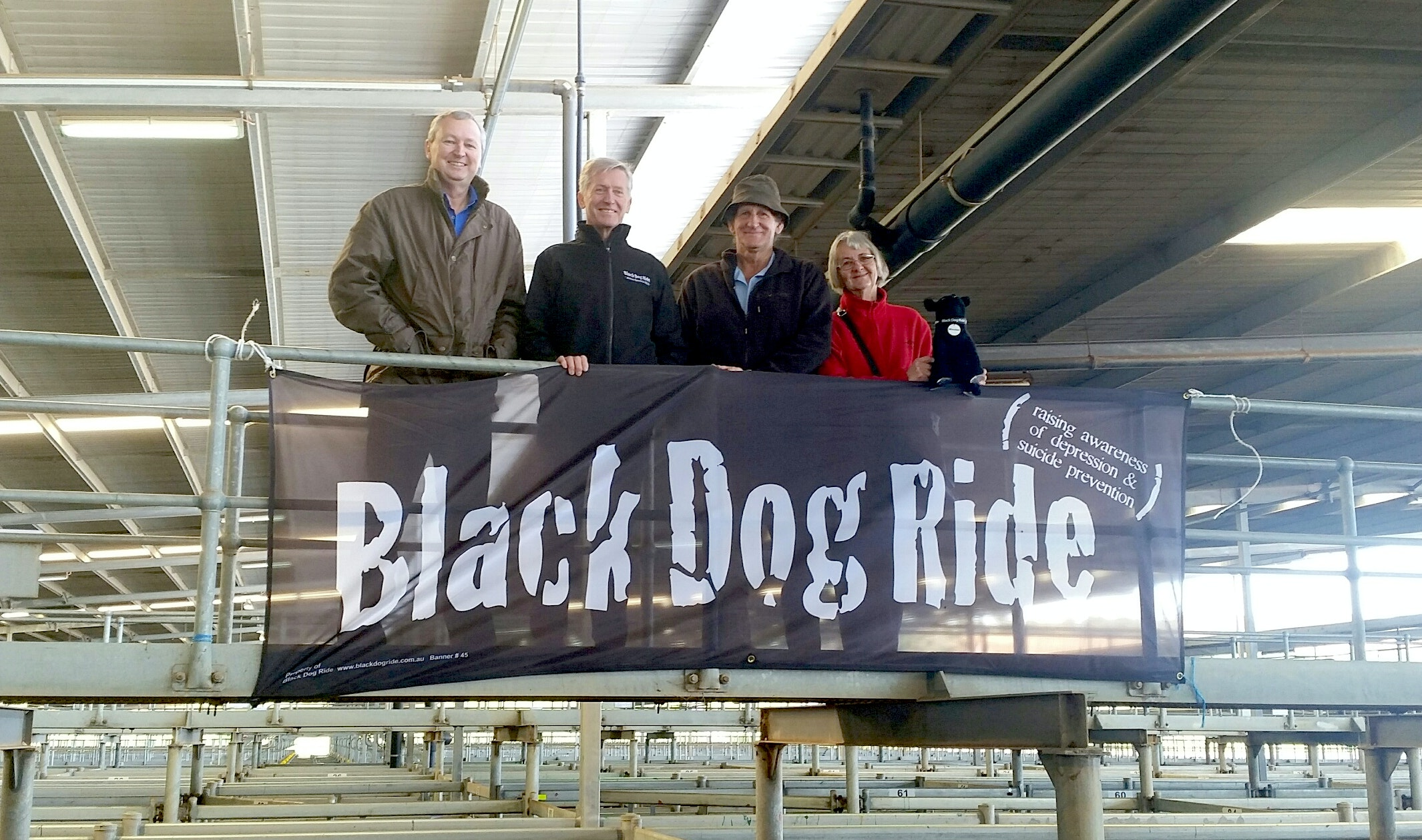 Black Dog Ride Steer Auction for Suicide Prevention in Muchea