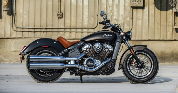 Black Dog Ride 1 Dayer 2017 - Indian Scout - Raffle Prize