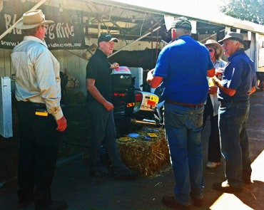 Cattlemen planning the 2013 Black Dog Ride Muster