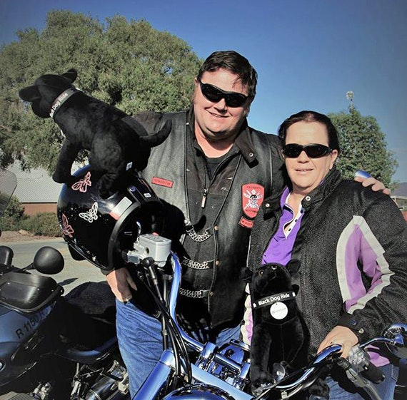Black Dog Ride 1 Dayer Wangaratta 2016