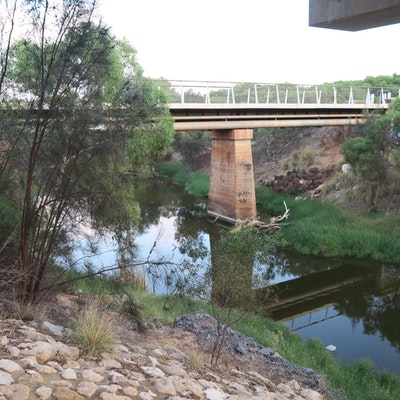 The old rail bridge