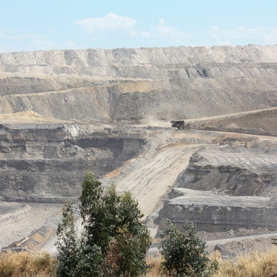 Coal Mining near Collie