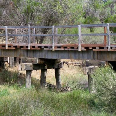 Rail bridge near Darkan
