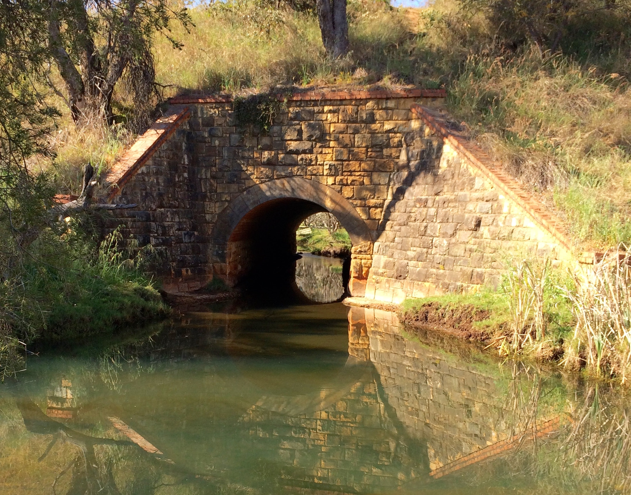 Stone Culvert near Harper Rd Crossing