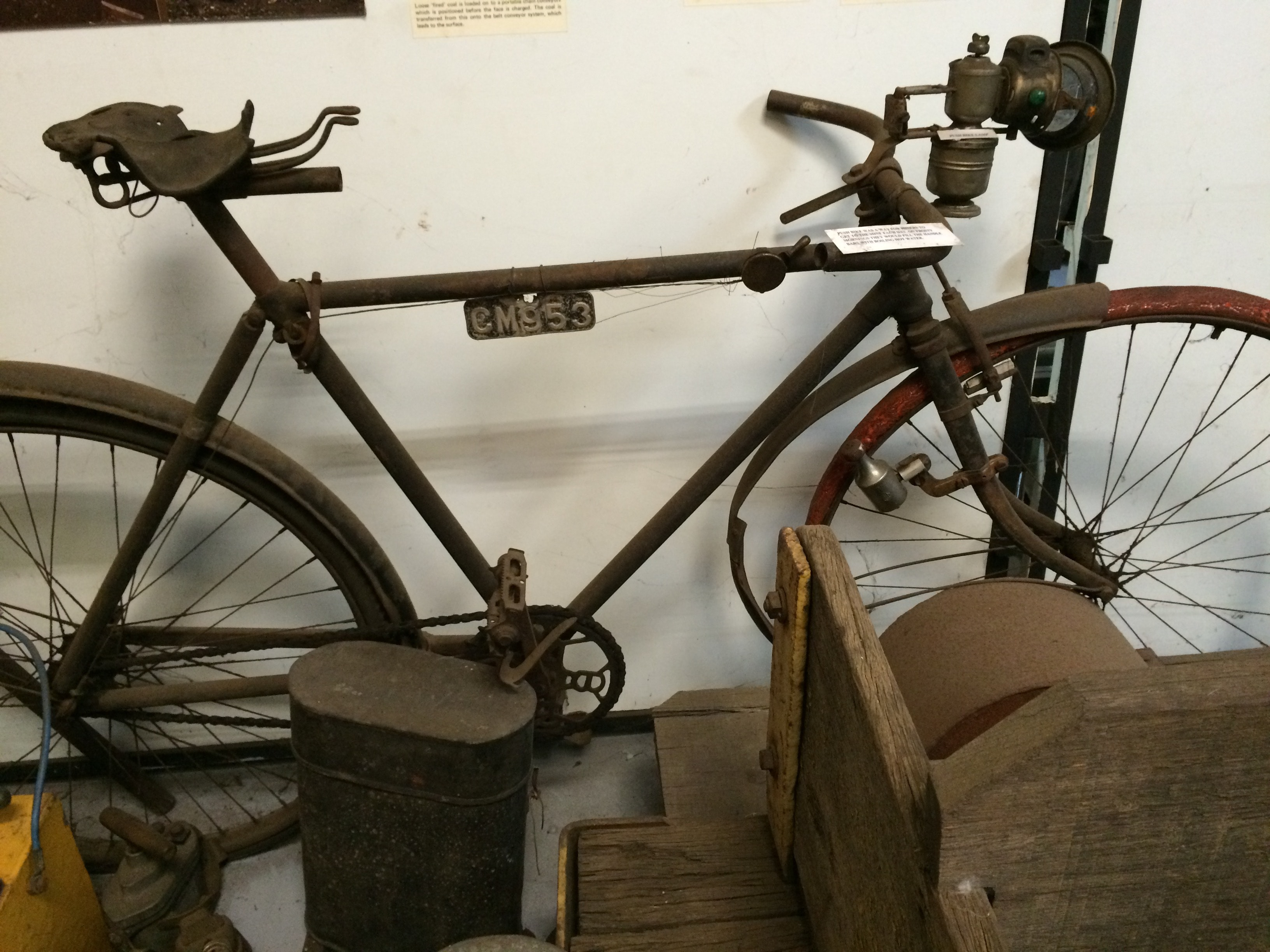 Old bike, Collie museum