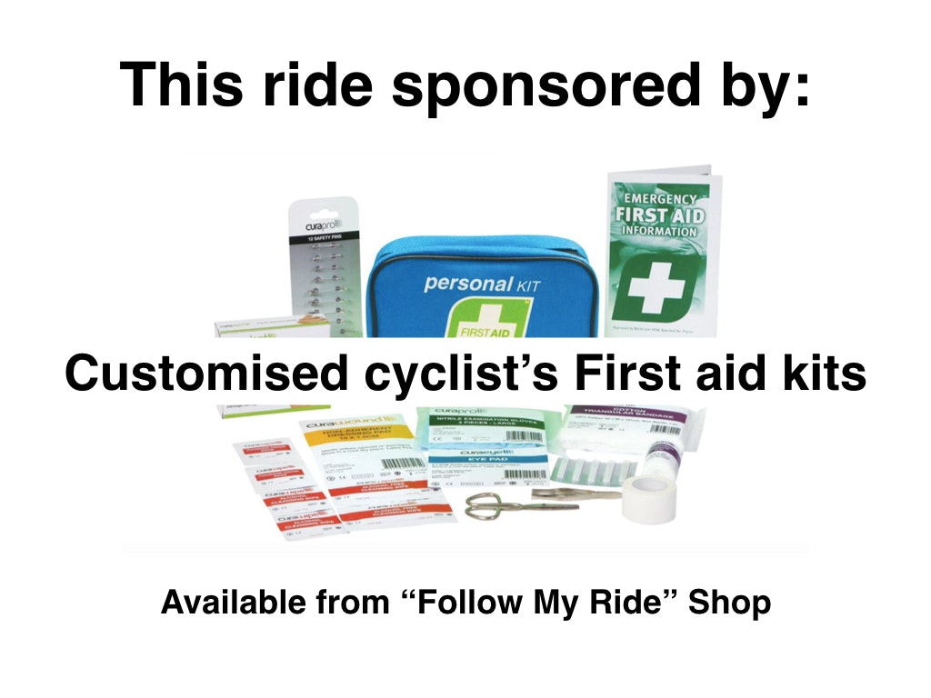 Cyclist's First Aid kits