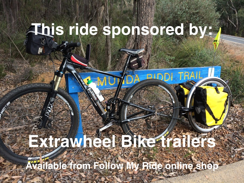 Extrawheel bike trailers
