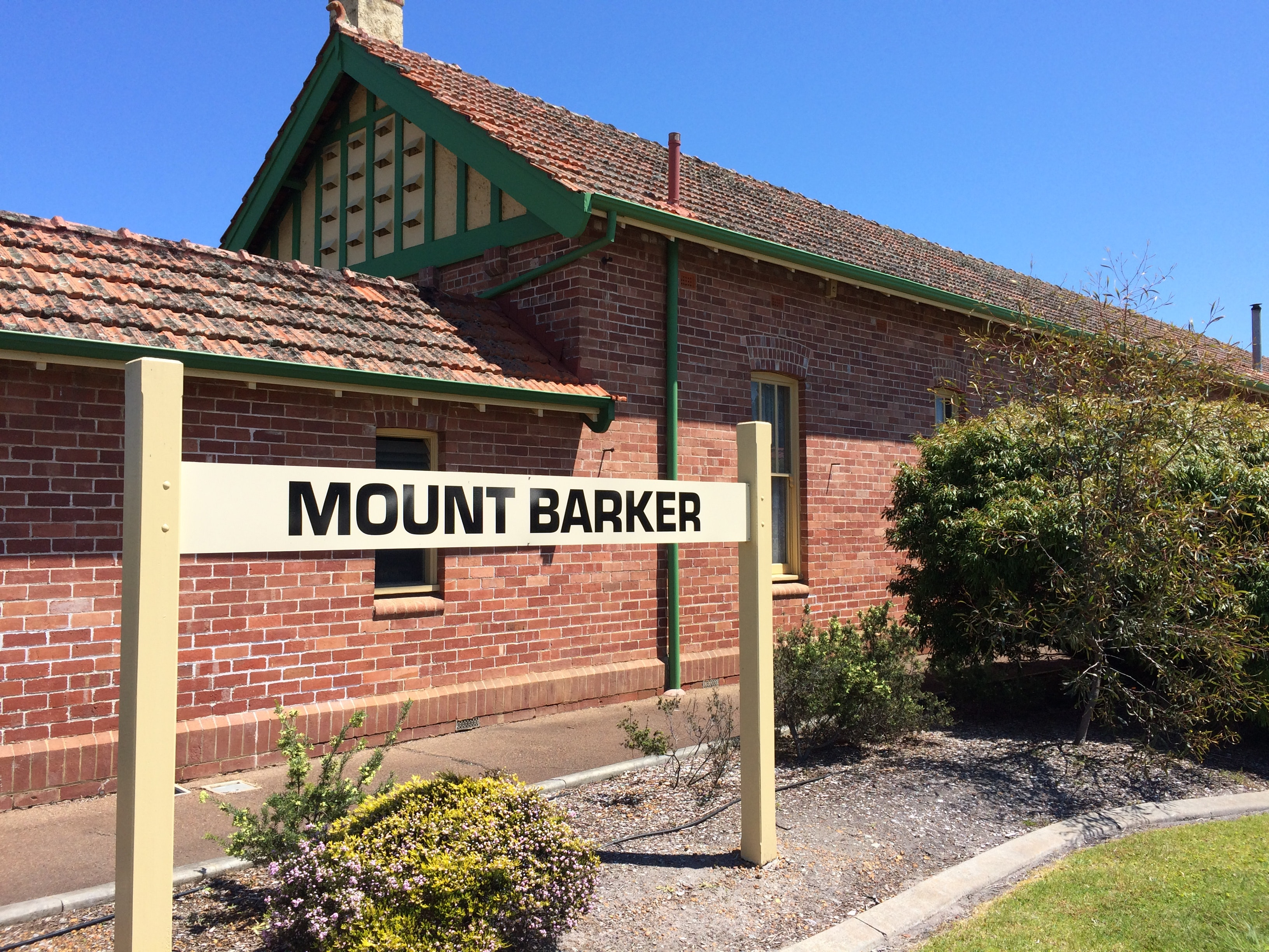 Old train station, Mount Barker