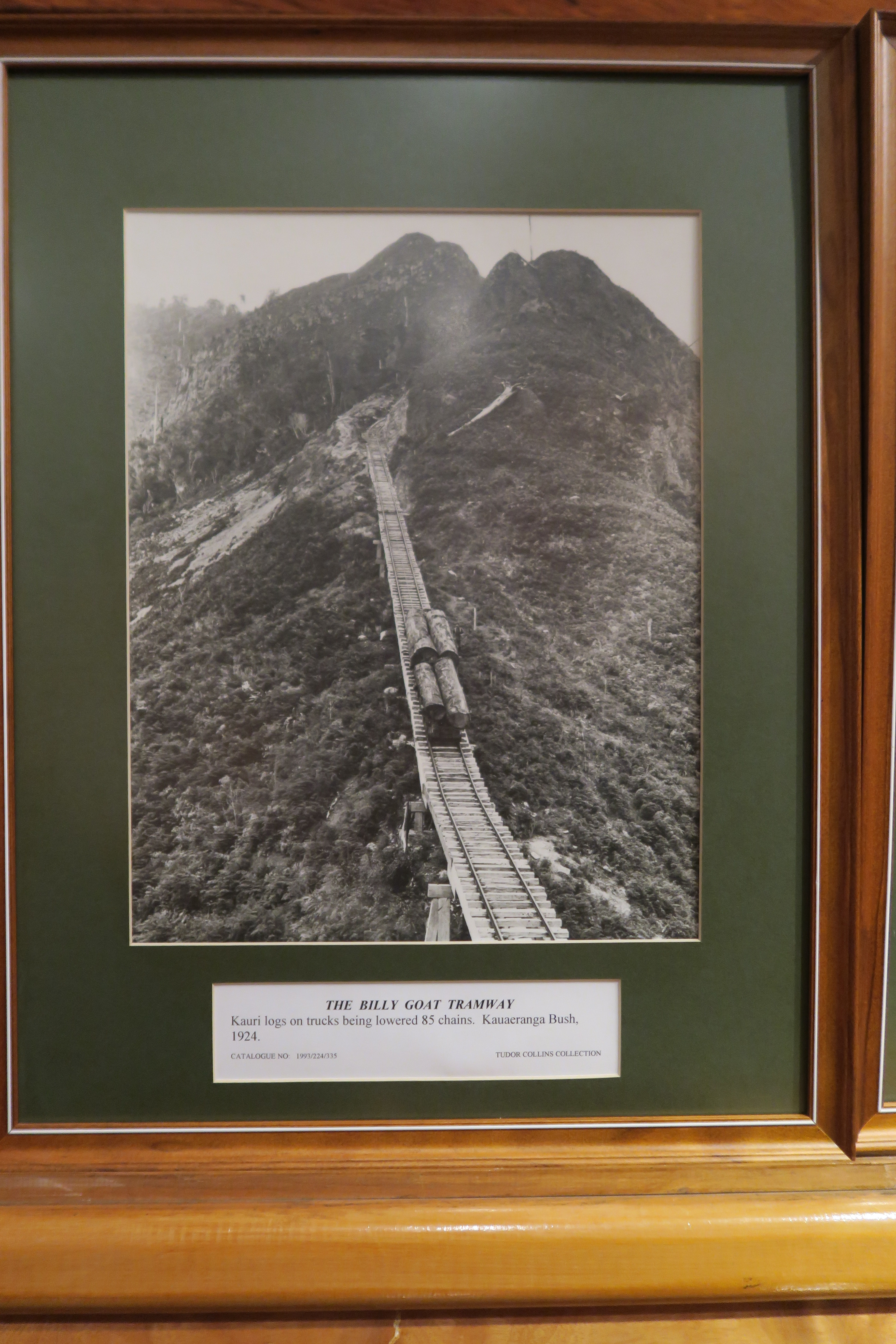 Billy Goat Tramway, NZ. 1924