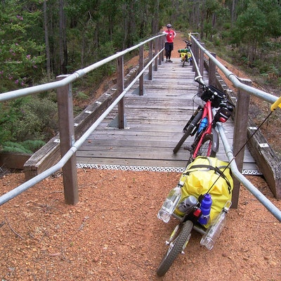 Sidings Trail bridge, North of Nannup